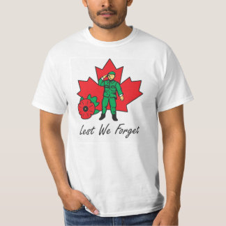 Men's T-Shirt - Lest We Forget