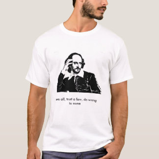 Mens T-Shirt - William Shakespeare