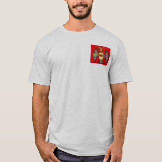 Men's T-Shirt with Bold Eagle