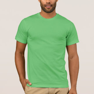 Men's t-shirt with Crest on back