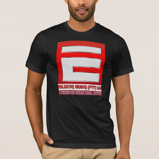 Mens T- Shirt with Eklektiq Musiq Logo