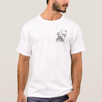 Mens T shirt with pig design