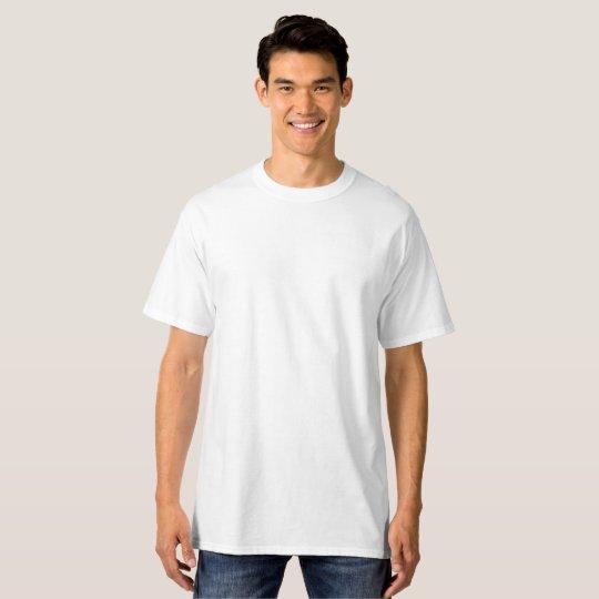 Hanes Tall T-Shirt, White