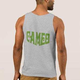 Men's Tank Top with Green Cameo Logo