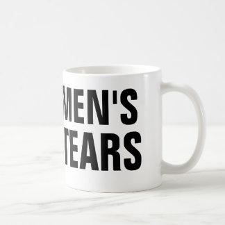 Men's Tears Coffee Mug