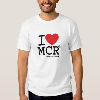 Men's tee - I Love Manchester MCR
