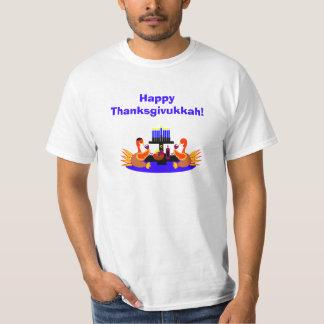 Men's Thanksgivukkah Funny Turkey Tshirt