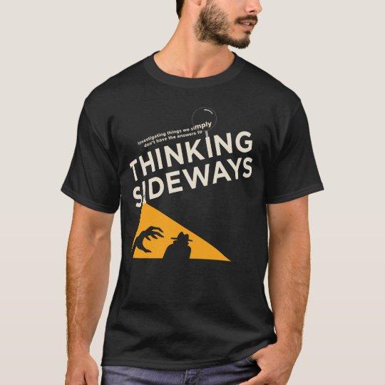 Mens Thinking Sideways Podcast logo 2016 T-Shirt