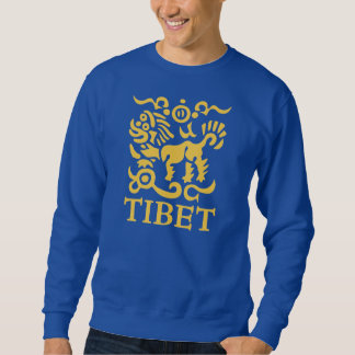Men's Tibetan Snow Lion Sweatshirt