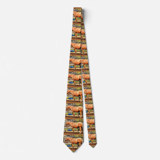 "Men's Tie ""Maple Horse"""
