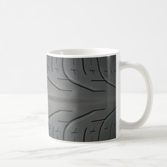 Men's Tire Tread Coffee Mug