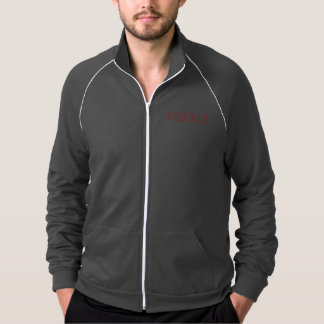 Men's track jacket with 'favorite'
