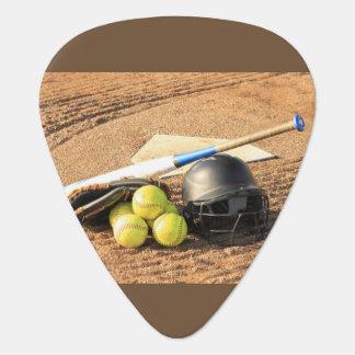 Men's trendy  baseball guitar pick