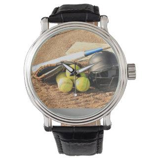 Men's trendy  baseball watch