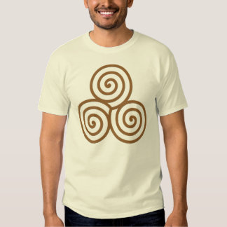 Men's Triple Spiral T-Shirt