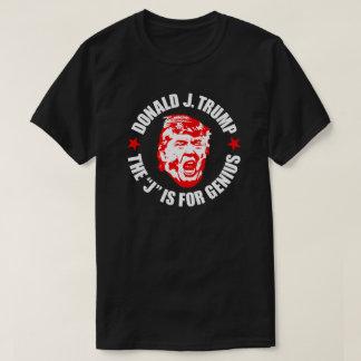 "Men's Trump T-Shirt: ""The J is for Genius"" T-Shirt"