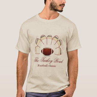 Men's Turkey Bowl Football Classic Shirt