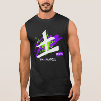 Men's Ultra Cotton Sleeveless Kanji/Warrior T Sleeveless Shirt