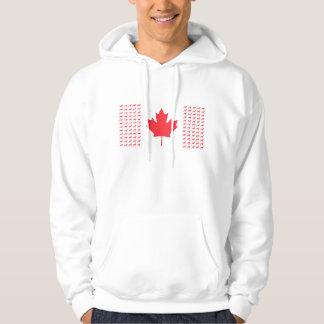 Men's Vizsla Canadian Flag Hoodie