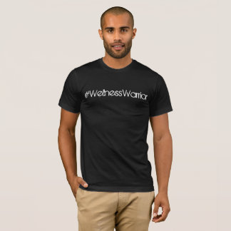 Mens #WellnessWarrior Black Basic Tee