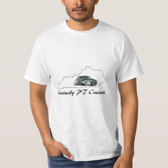 Mens White KY PT Cruisers T-Shirt