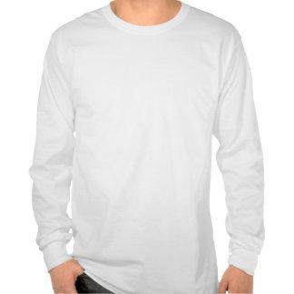 Mens White Long Sleeve T-Shirt Tribal Blade front