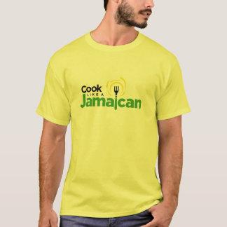Men's Yellow Cotton T-Shirt