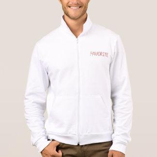 Men's zip jogger with 'favorite' jacket