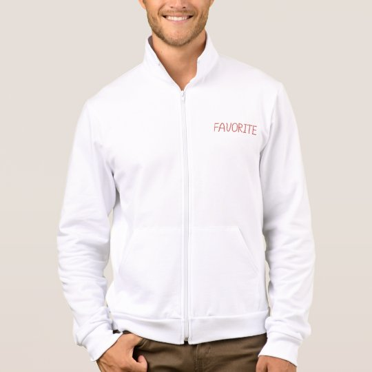 Men's zip jogger with 'favourite' jacket