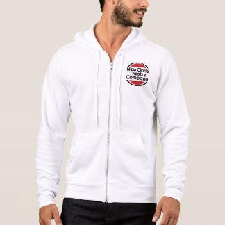 Men's zippered sweatshirt with logo