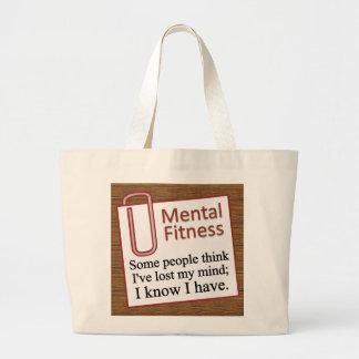 Mental Fitness Jumbo Tote Bag