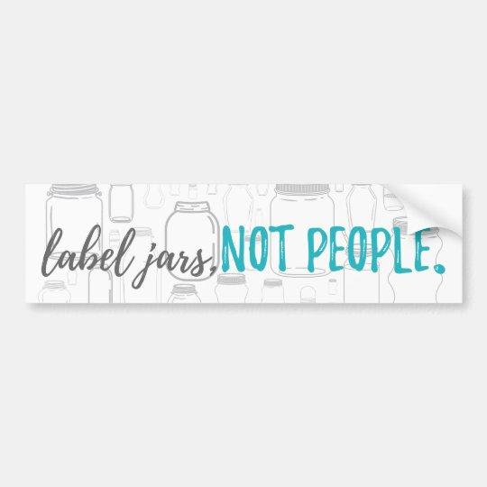 Mental health advocacy bumper sticker