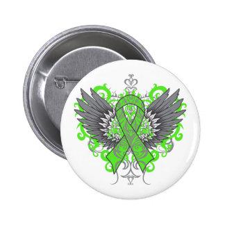 Mental Health Awareness Cool Wings 6 Cm Round Badge