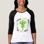 Mental Health Awareness Faith Hope Love Cross T-shirt