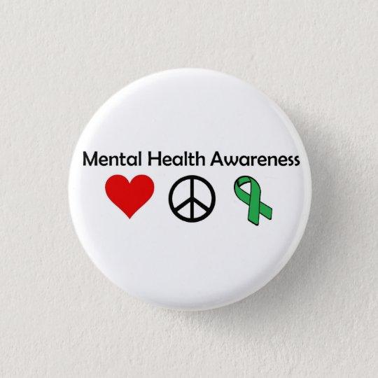 Mental Health Awareness - Love, Peace, Awareness 3