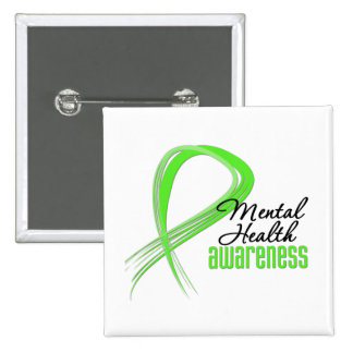 Mental Health Awareness Ribbon Pins