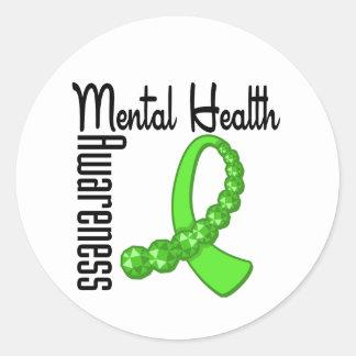 Mental Health Awareness Round Sticker
