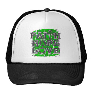 Mental Health Faith Hope Love Trucker Hat