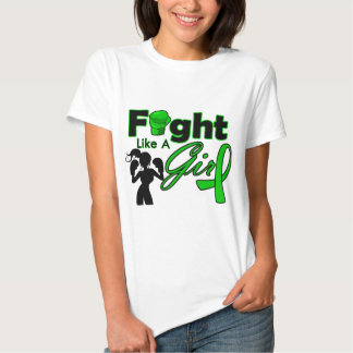 Mental Health Fight Like A Girl Silhouette Shirts