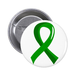Mental Health Green Ribbon 3 6 Cm Round Badge