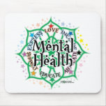 Mental Health Lotus Mousepads