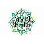 Mental Health Lotus Post Card