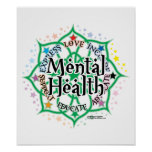 Mental Health Lotus Poster