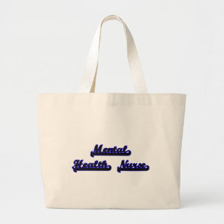 Mental Health Nurse Classic Job Design Jumbo Tote Bag