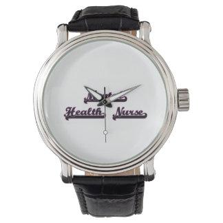Mental Health Nurse Classic Job Design Watches