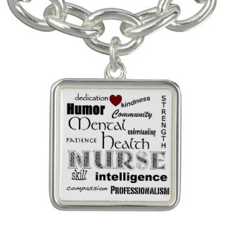 Mental Health Nurse Pride-Attributes+Red Heart