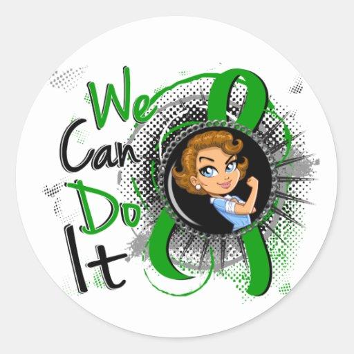 Mental Health Rosie Cartoon WCDI.png Stickers