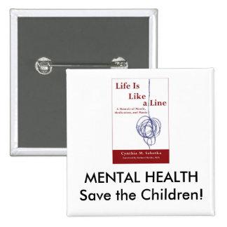 MENTAL HEALTH Save the Children Square Button