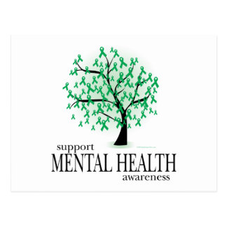 Mental Health Tree Postcard