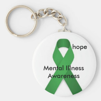 Mental illness awareness key ring